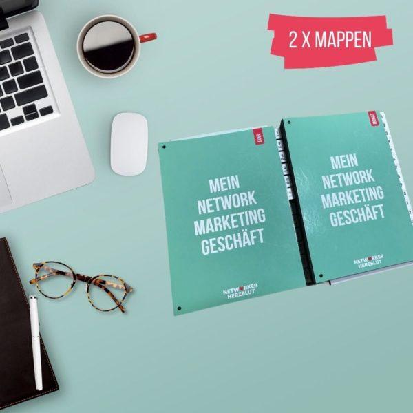 Pultordner Mappe Orgamappe Kontakte Planen Networker Herzblut